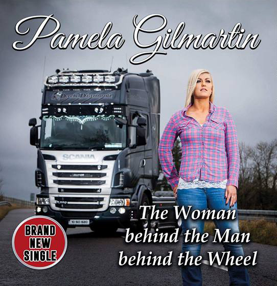 The Woman Behind The Man Behind The Wheel - Downloadable File